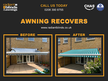 Blinds and Awnings for shops and homes in Array